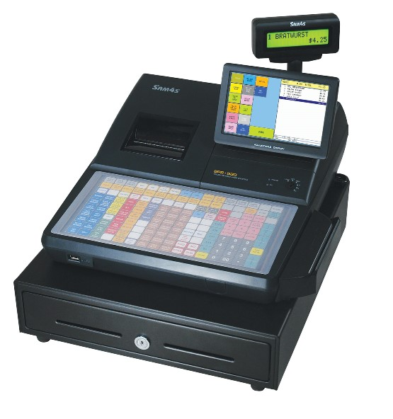 SAM4s® SPS-500 Series™ Cash Register