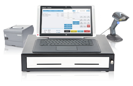Comcash Home Page POS™ Cash Register