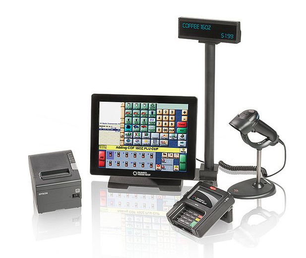 Gilbarco® Passport™ Scanner and POS Terminal