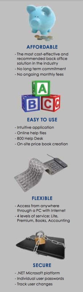 Affordable, Easy to Use, Flexible, Secure
