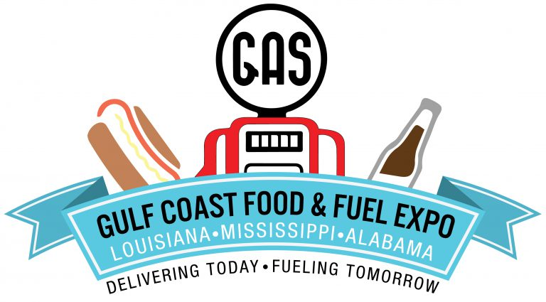 Logo for the Gulf Coast Food & Fuel Expo Convention
