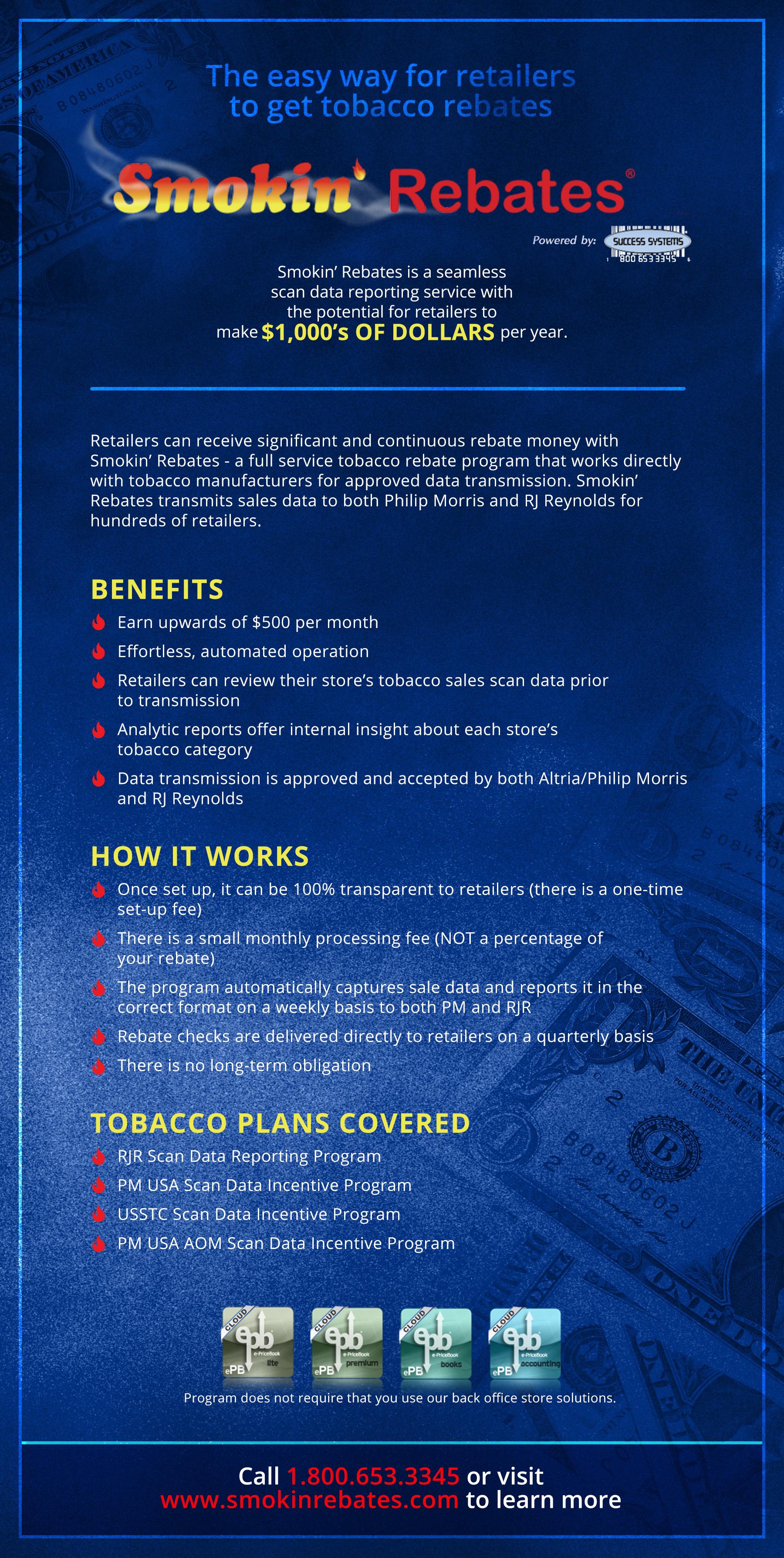 Smokin Rebates One Sheet
