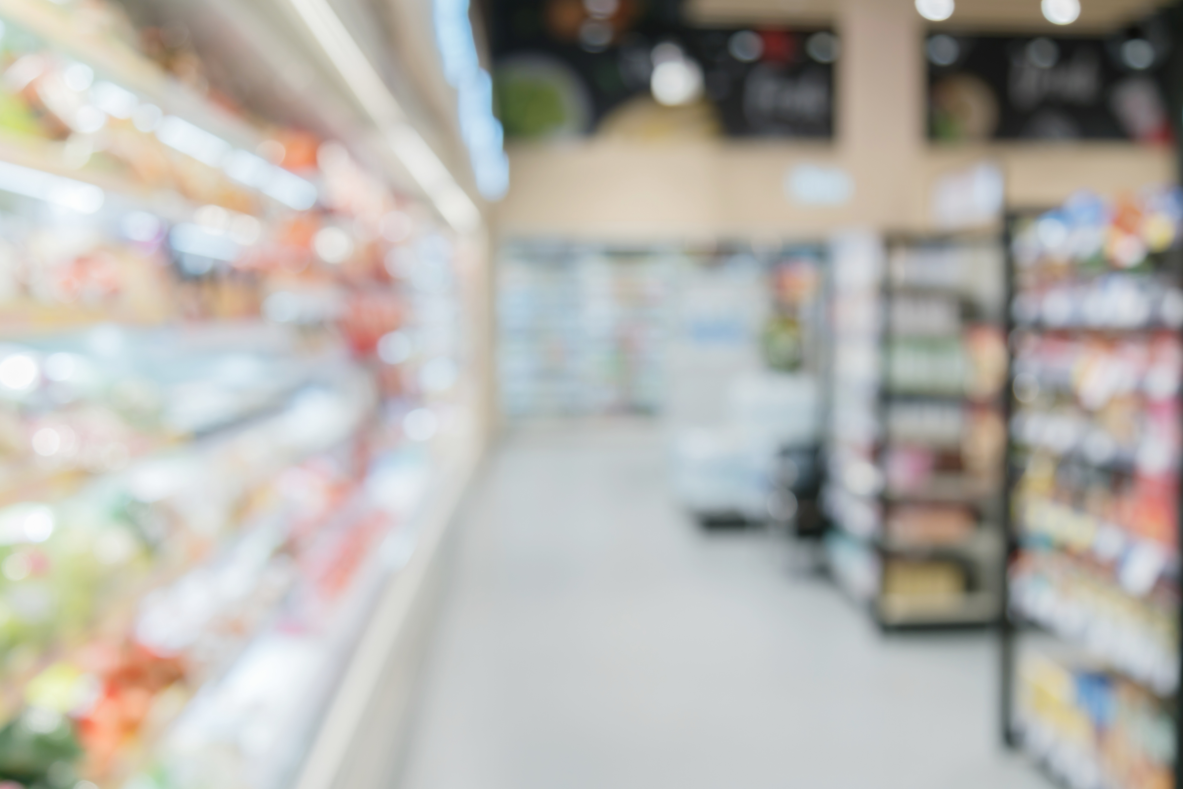blur image background of convenience store